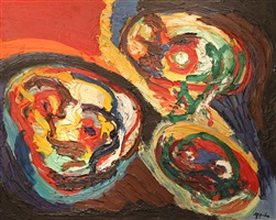 three faces by karel appel