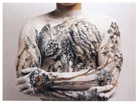 chinese landscape: tattoo no. 9 by huang yan