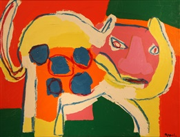 animal by karel appel