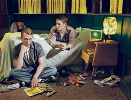 boys in a bedroom, 2am, 1958 by mcdermott & mcgough