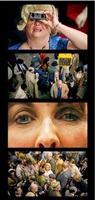 face in the crowd film strip #4 by alex prager