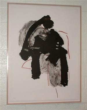 calligraphy i by robert motherwell