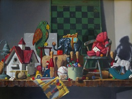 toys in the attic by claudia seymour