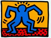 pop shop ii by keith haring