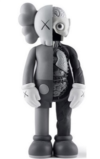 dissected companion 4ft by kaws