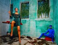 untitled (blue) by lyle ashton harris