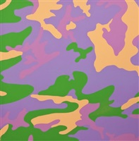 camouflage tp (purple + green) by andy warhol