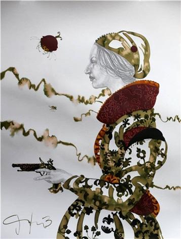 les petites femmes et le pistolet a percussion iii by carlos gámez de francisco