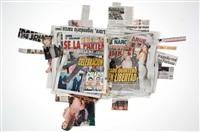 ¡la voz de jalisco el periodico que dice lo que otros callan más noticias más deportes! (saturday, august 10th 2013: metro, la prensa jalisco, express guadalajara) by walead beshty