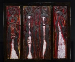 five family triptych by marlene rose