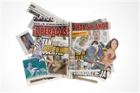 ¡la voz de jalisco el periodico que dice lo que otros callan más noticias más deportes! (thursday, august 22nd 2013: metro, la prensa jalisco, express guadalajara) by walead beshty