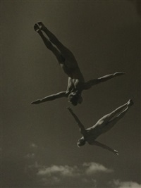 national danish gymnastic team, sky #24 by anderson & low