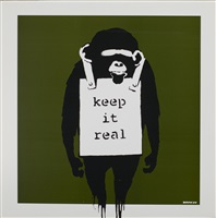 album records keep it real by banksy