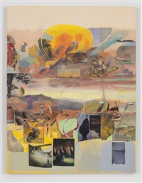 horizontal yellow day by elliott hundley