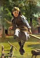 see-saw by john george brown