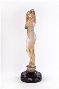 grand nue statue by rené lalique