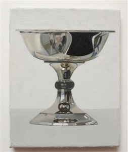 silver bowl, nr. 176 by peter dreher