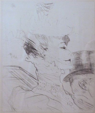louise balthy by henri de toulouse-lautrec