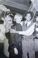 andy warhol and jean-michel basquiat at aero club by ben buchanan