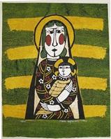 a modern madonna by sadao watanabe