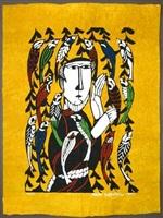 st. francis preaching to the birds by sadao watanabe