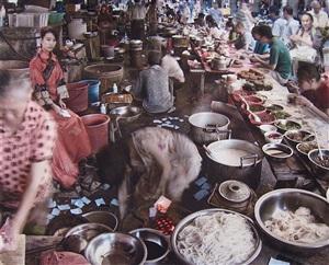 noodle market by qin wen