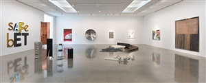 installation view: <i>inaugural exhibition by gallery artists</i>