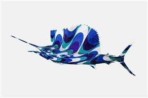 pucci-inspired sailfish by kevin mchugh