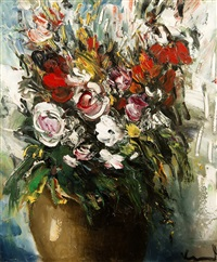 le bouquet by maurice de vlaminck