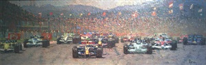 formula one race by pip todd warmoth