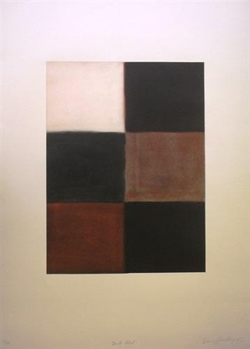 dark fold by sean scully