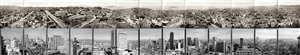 panorama of san francisco from the top of the mark hopkins hotel by mark klett