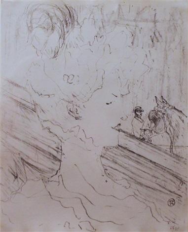 emilienne dalencon by henri de toulouse lautrec