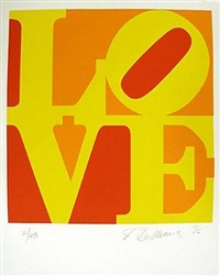 the book of love #10 by robert indiana