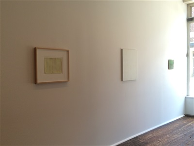 installation view of a section of the front room of <i>the...sea</i>