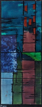 cartoon for coventry baptistery window b142 by john piper