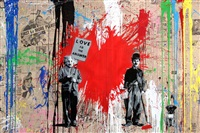 juxtapose by mr. brainwash