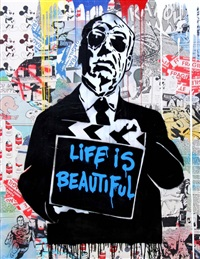 hitchcock by mr. brainwash