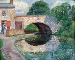 canal bridge, radford by hubert lindsay wellington