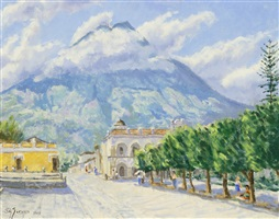 town square, antigua by s. n. garavia