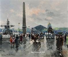 place de la concorde by antoine blanchard