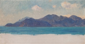 a mediterranean coastal study by sir ernest albert waterlow