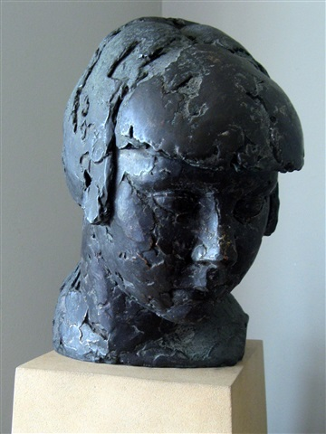 head of a woman (study for cornucopia 1) by frank dobson