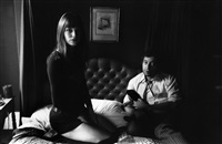 gb. london. serge gainsbourg & jane birkin. 1970. by ian berry