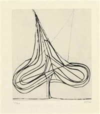 drypoint spade by richard diebenkorn