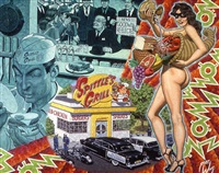 expectorating in a fast food patron's double burger deluxe by robert williams
