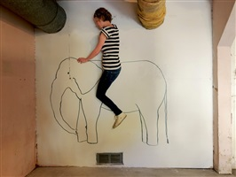 elephant ride by lee materazzi