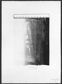 ruler by jasper johns