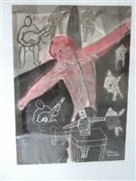 red dancer by rinos stefani