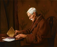 the buff envelope by charles spencelayh